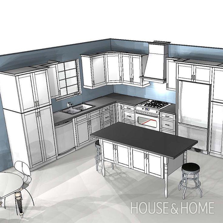 3367 besten Kitchen Design Bilder auf Pinterest | Küchen modern ...