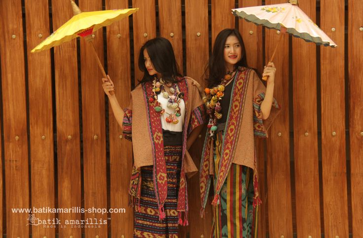 batik amarillis's kiku jacket www.batikamarillis-shop.com Made in Indonesia Kiku is unique and ethnic inspired outfit..for you who's not afraid to stand out in the crowd looking fabulously unique & stylish,it's made with various beautiful Ikats of Indonesia