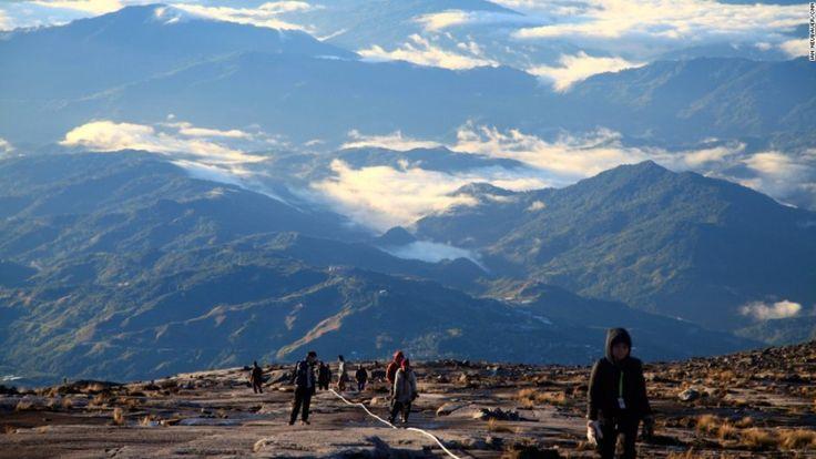 Un Sismo En Malasia Deja Varados A Escaladores En El Monte Kinabalu