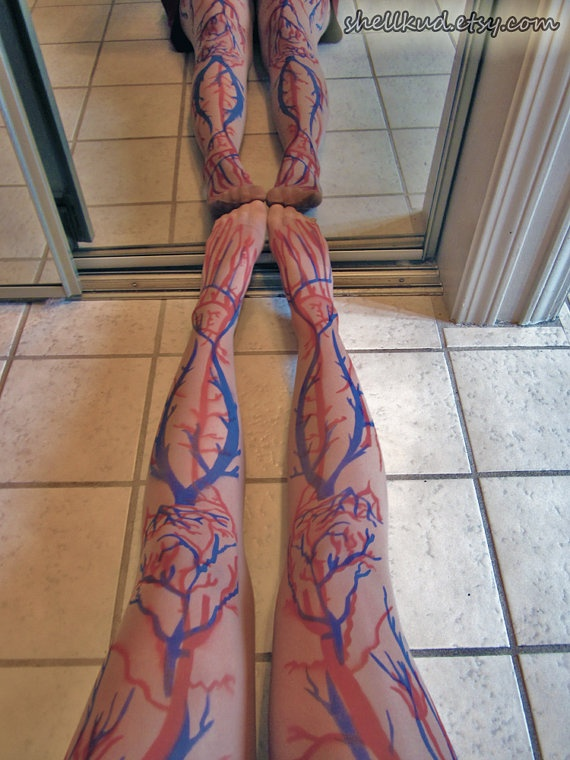 Anatomically Correct Cardiovascular Tights    Source: http://shellkud.etsy.com