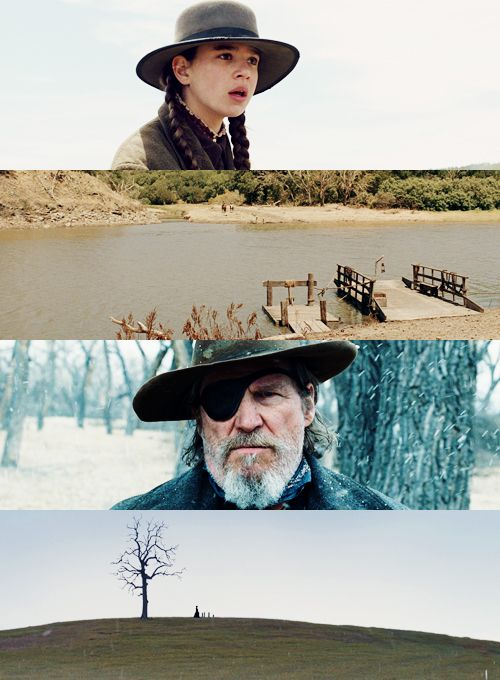 """""""True Grit"""" (2010) Jeff Bridges,Matt Damon, Josh Brolin and Hailee Steinfeld"""