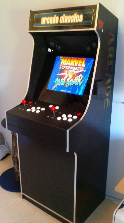 Project MAME - Other Mame cabinets based on the Project MAME design...