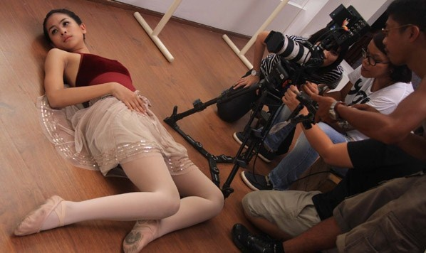 Syuting Video Klip ke-2 Maudy Ayunda