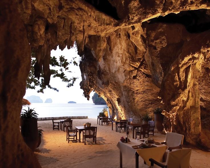 EXOTIC GETAWAY  Rayavadee, Krabi, Thailand via @smithhotels  #holtspintowin
