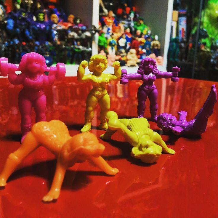 C.U.T.I.E. MATTEL  1986 80s独特のどうかしてる感を堪能できます #muscle #キン肉マン #keshi #キン消し #vinyltoy #toys #toycollector #toyslagram #mattel #cutie by maskdcdc555