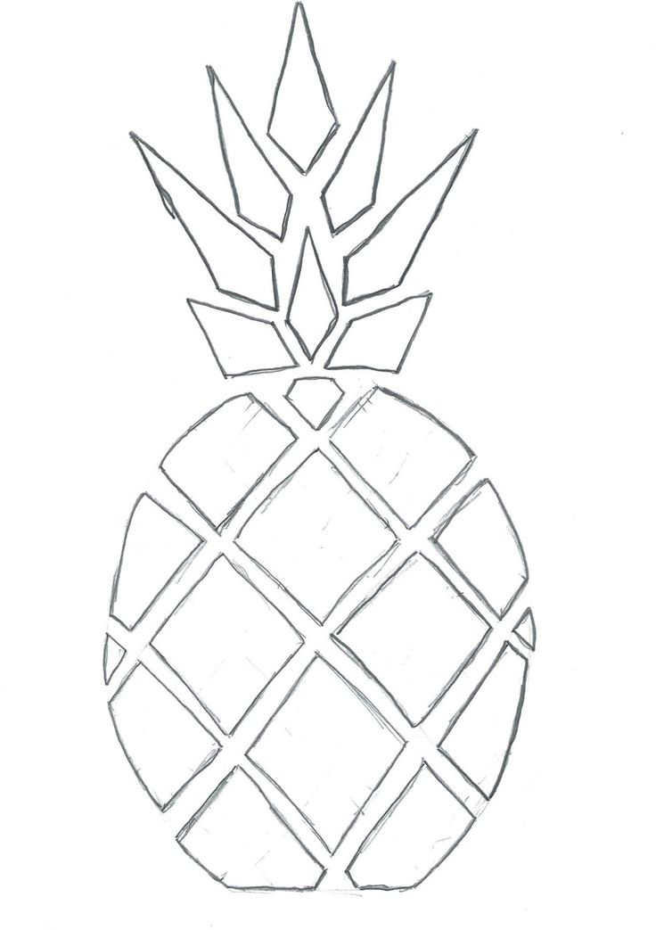 1000 ideas about ananas dessin on pinterest zentangle - Ananas dessin ...