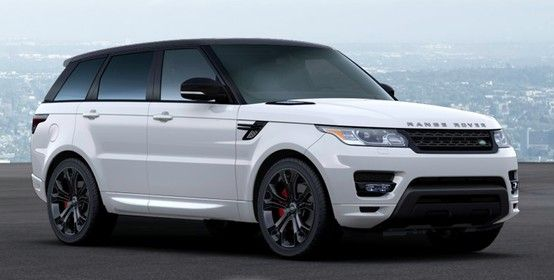 2014 Range Rover Sport Autobiography. white on black. in love.