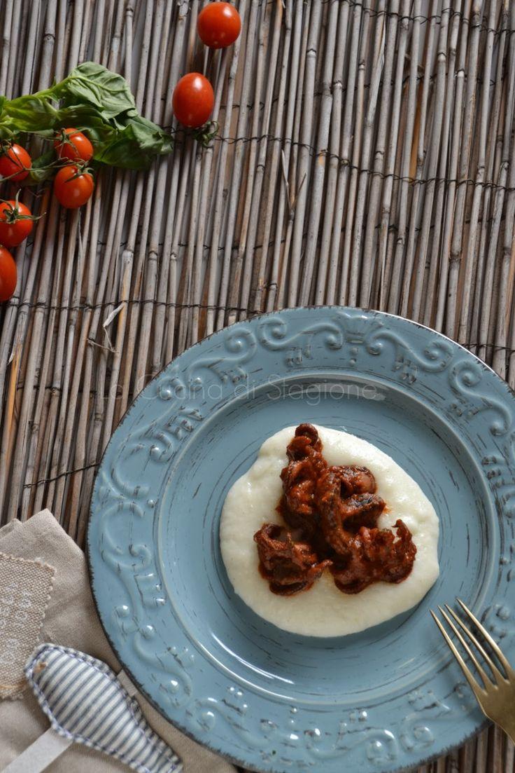 La Cucina di Stagione: Guazzetto di moscardini e polentina bianca
