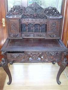desks antique victorian desks antique walnut  - with secret hidden drawers?? ;)