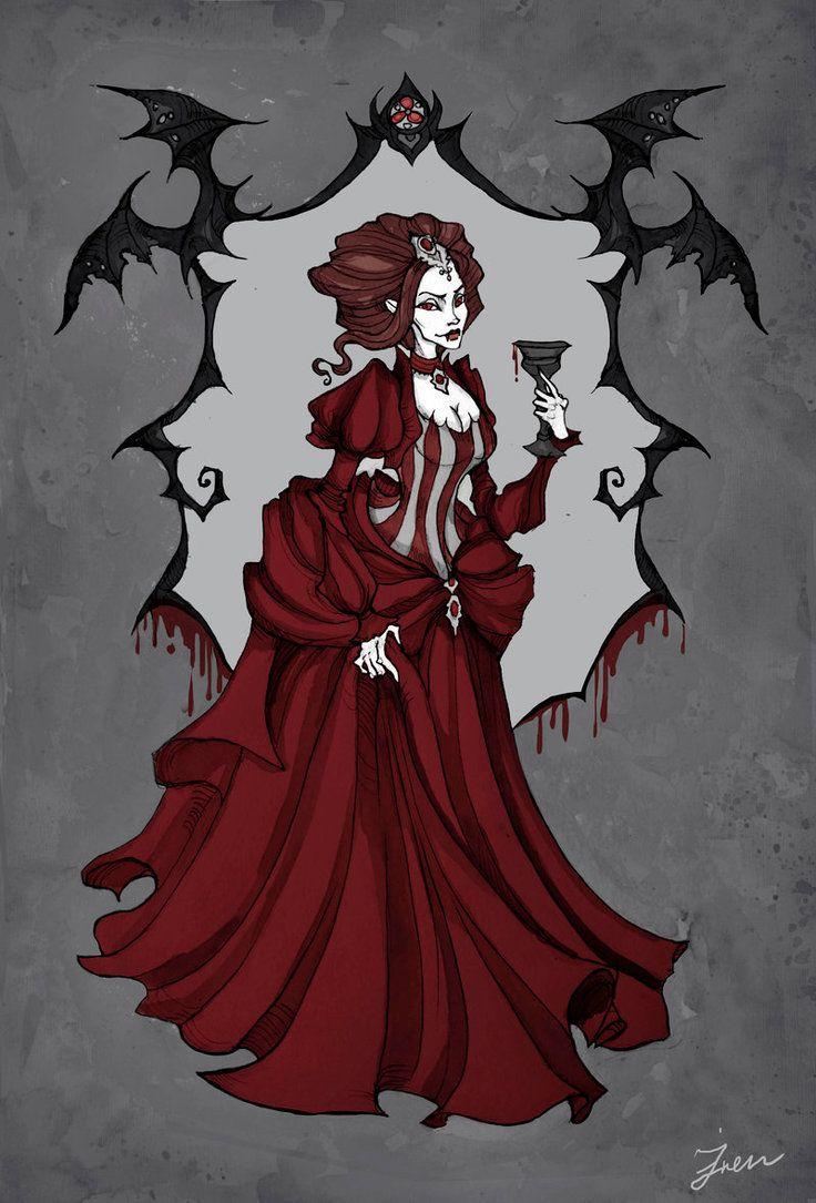 Carmilla by IrenHorrors.deviantart.com on @DeviantArt