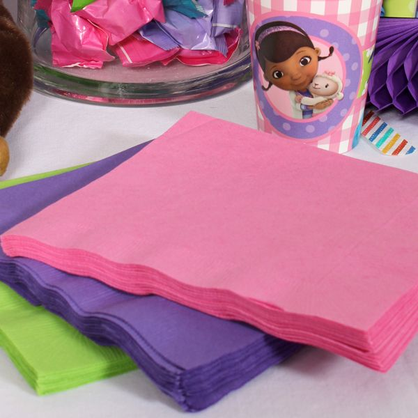 Doc McStuffins Coordinating Lunch Napkin Set at Birthday Direct & 22 best Doc McStuffins images on Pinterest | Anniversary ideas ...