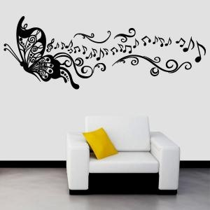 17 mejores ideas sobre notas musicales dibujos en for Vinilo decorativo musical pared