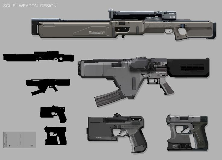 Intro to Concept Props: Weapon Design By Jp_demo_small John J. Park