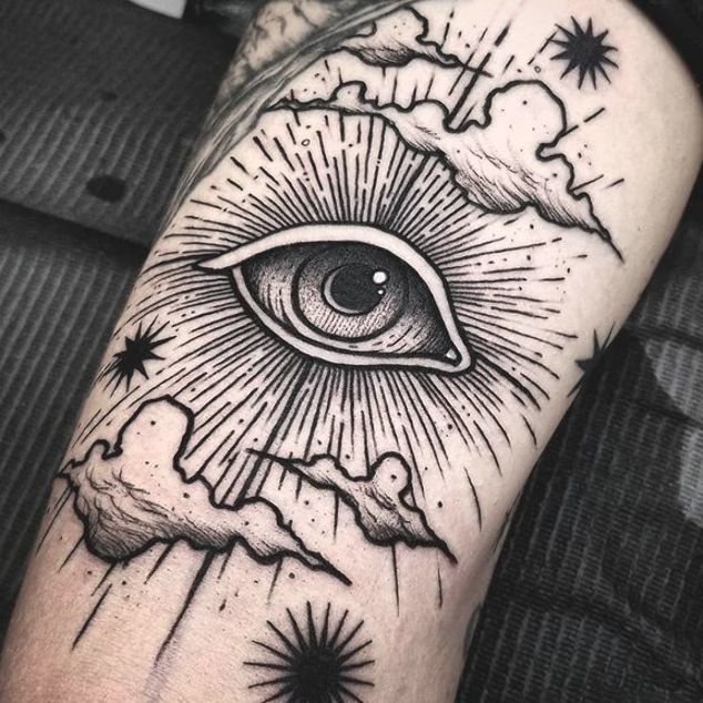 Awesome Best Eye Tattoo Design By Far Eyes Are Soo Difficult To Draw Usually It Takes Time To Be Good Enough At It To In 2020 Eye Tattoo Space Tattoo Cloud Tattoo