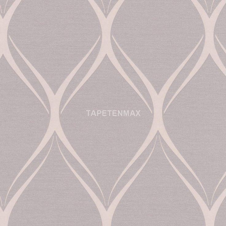 """Ein modernes Design-Muster in grau/silber ziert die Vliestapete 031084 aus der """"Platinum"""" von Rasch Textil. Günstig online kaufen."""