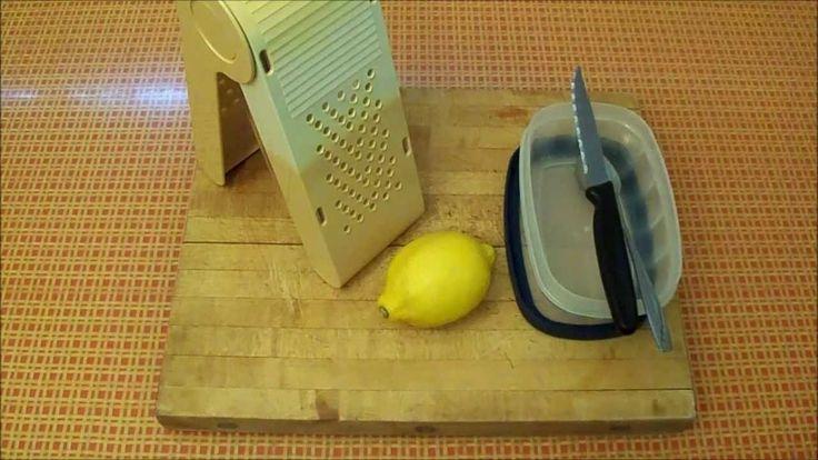 Grated Frozen LEMON Flavor EXPLOSION - HEALTH Benefits vs Cancer, Tumors...