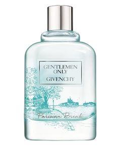 Givenchy Gentlemen Only Parisian Break : un nouveau parfum homme aux notes de citron, menthe, sauge, vétiver, et ambroxan.