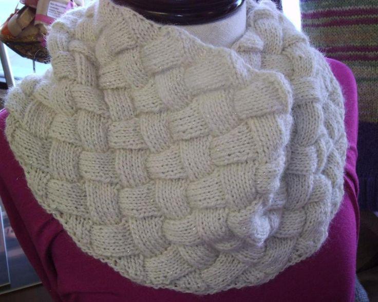 Mejores 16 imágenes de Entrelac knits en Pinterest | Patrones de ...