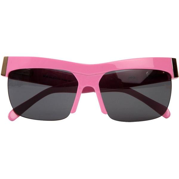 PPQ Pink Valentina Sunglasses