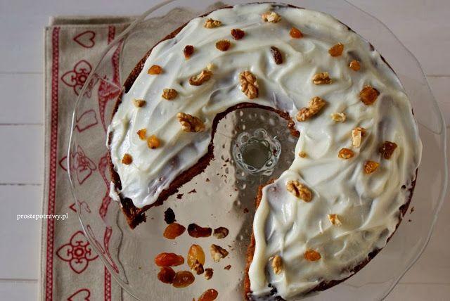 Proste Potrawy: Ciasto z dynią i jabłkami - pyszne