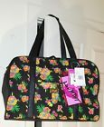 ⌂♮ NWT LUV BETSEY BETSEY JOHNSON WEEKENDER quilted tropical print & diape... Act http://ebay.to/2jHIpOF