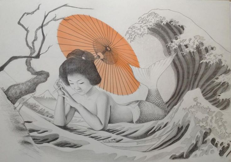 Magical #Mermaids of #Japanese Folklore