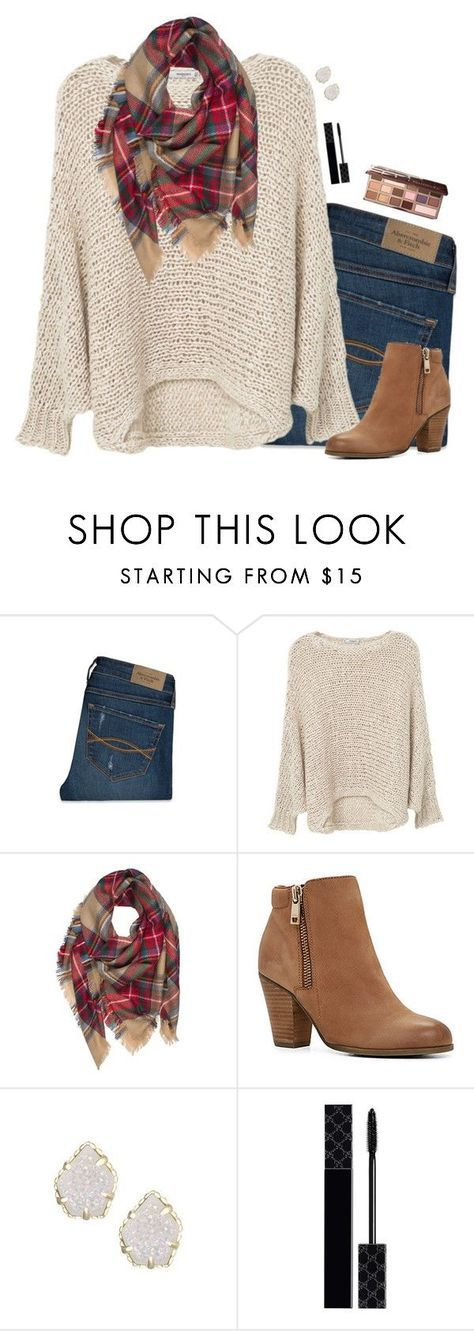 """""""ABOUT TO GO ON MY MISSION TRIP!!!!"""" by psherminwallabieway ❤️ liked on Polyvore featuring Abercrombie & Fitch, MANGO, ALDO, Kendra Scott, Gucci and Too Faced Cosmetics"""