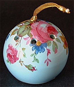 Pomanders like this....I still have my heart pomander from England