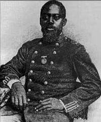 Civil War hero Sgt. William H. Carney, the first African American to receive the Medal of Honor.
