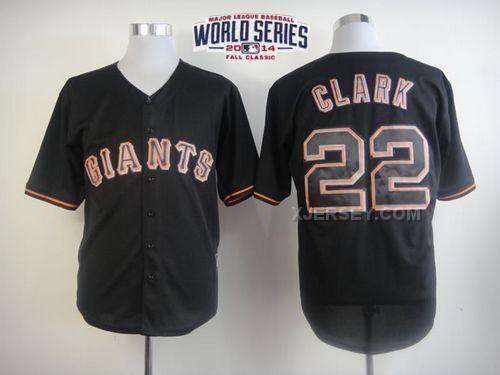 http://www.xjersey.com/giants-22-clark-black-2014-world-series-cool-base-jerseys.html Only$34.00 GIANTS 22 CLARK BLACK 2014 WORLD SERIES COOL BASE JERSEYS Free Shipping!