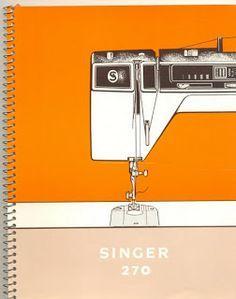 Livros de Costura à Máquina Scaneados