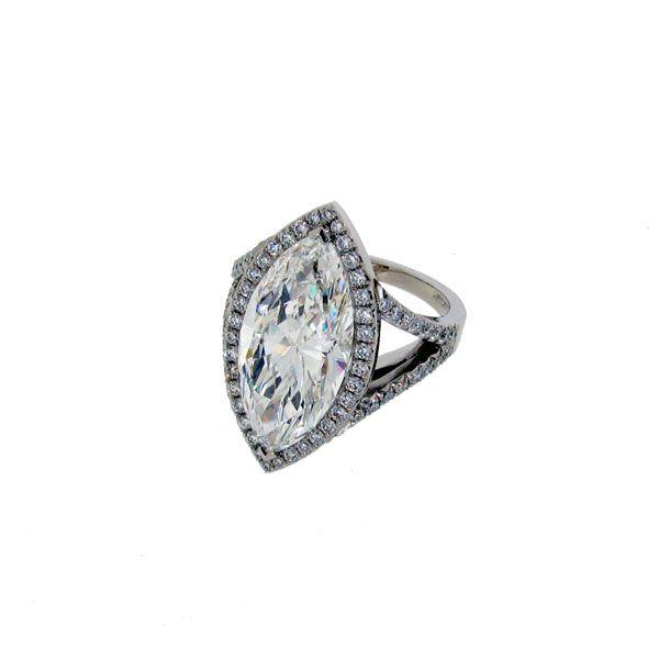 Bespoke Marquise Ring In 2020 Fine Diamond Jewelry Jewels Jewelry
