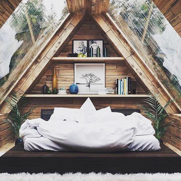 Beachhouse Designs: Design De Chambre Mansard E, Petite