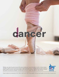 Palliative Care Ad: from cancer to dancer.