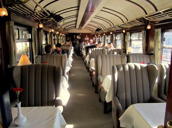Train from Cusco to Puno, interior photo, Andean Explorer