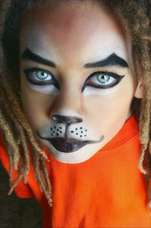 Pintar la cara en carnavales leon