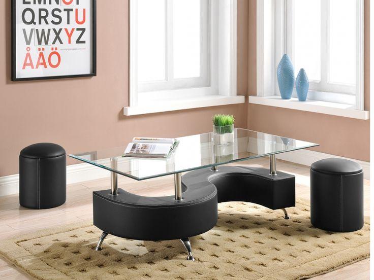 Best Couchtisch Glas Ying Sitzhocker Schwarz g nstig kaufen M bel Onlineshop Kauf unique