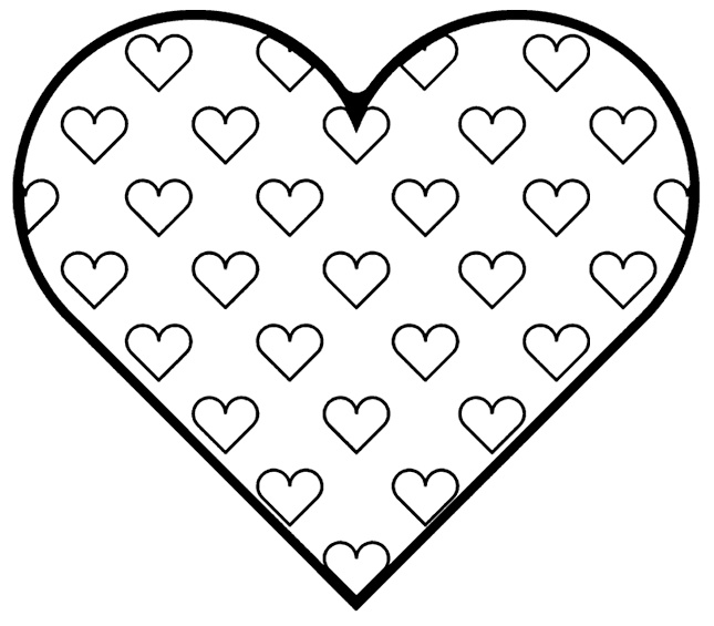 44 best Coloring images on Pinterest Coloring books, Coloring - new love heart coloring pages to print