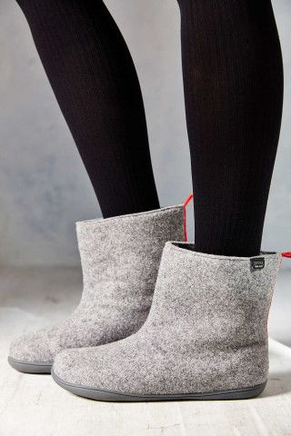 Camper Tweed Slipper Boot - Urban Outfitters