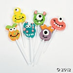 Lots of cute monster stuff at Oriential Trading