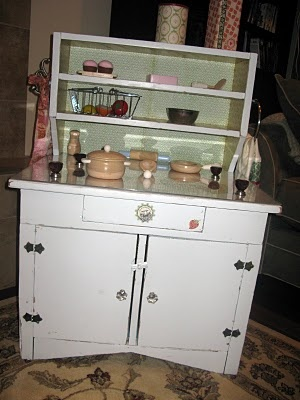 Pin by farming in my apron on let 39 s play house pinterest for Playroom kitchen ideas