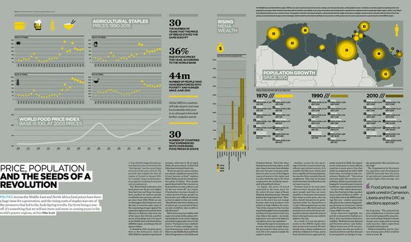 Infographics: Raconteur Dashboards 2011 by The Design Surgery , via Behance