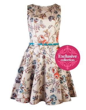 **EXCLUSIVE** Closet Winter garden dress