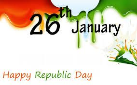 Image result for republic day shake hand tricolor invitation card