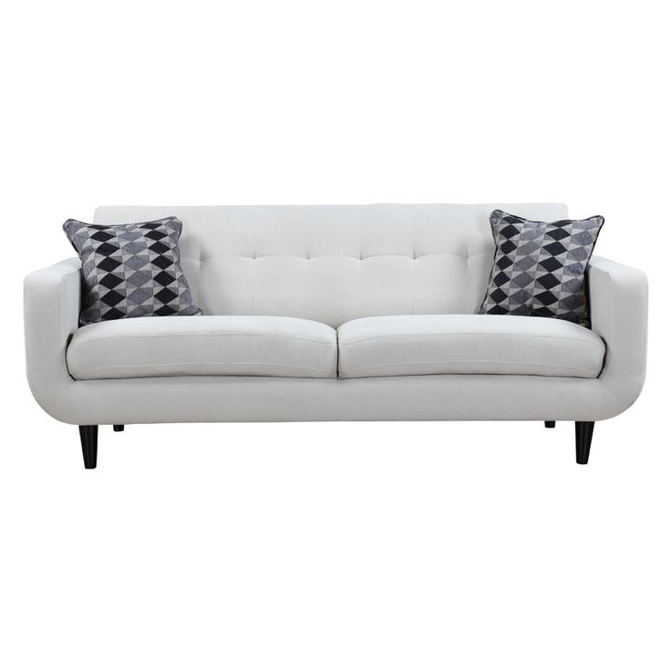 hyland collection sofa ivory living room