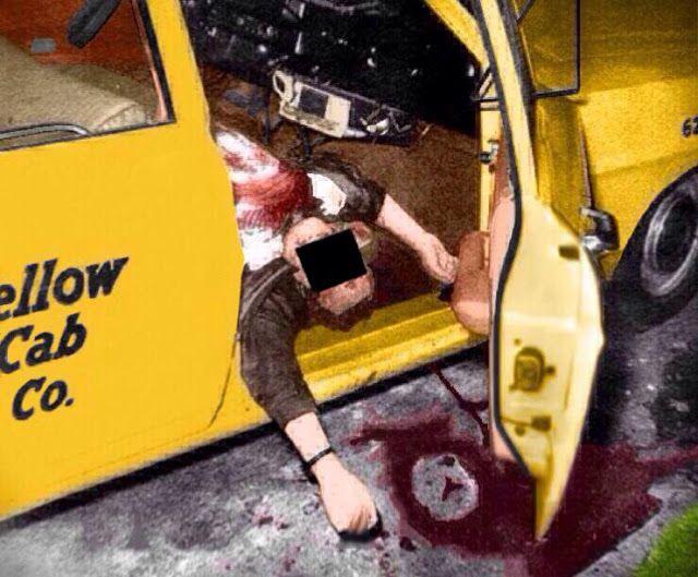 Paul Stine Crime Scene~10/11/1969 ZODIAC Killer