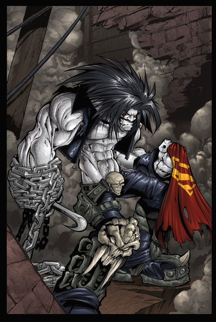 jewellery uk lobo comic art   Lobo Color by Sandoval Art on deviantART