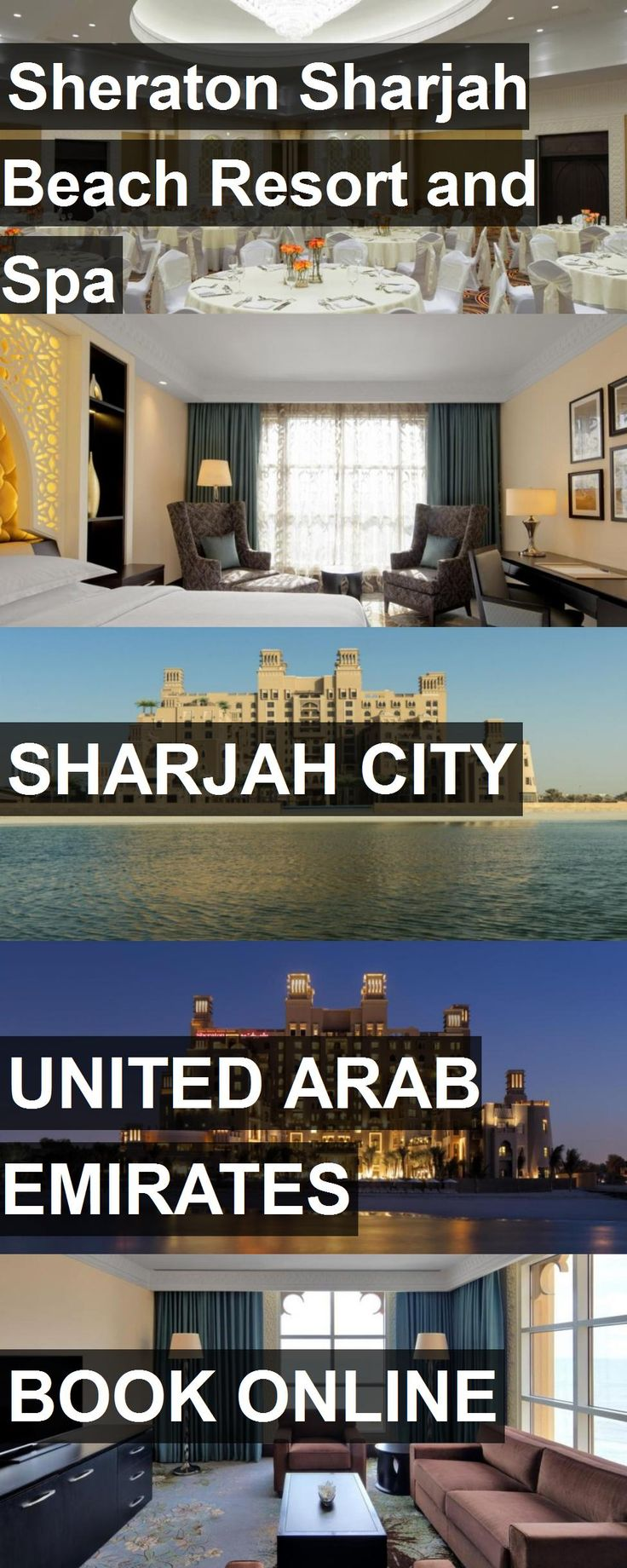 Hotel Sheraton Sharjah Beach Resort and Spa in Sharjah City, United Arab Emirates. For more information, photos, reviews and best prices please follow the link. #UnitedArabEmirates #SharjahCity #travel #vacation #hotel