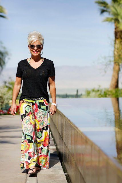 12428de54f3a how to dress in summers for women above 50 (15) #over50clothingwomen ...