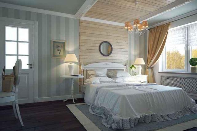 дизайн комнат с деревом